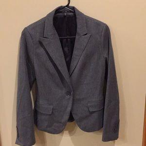 Express Grey Dress Jacket size 4